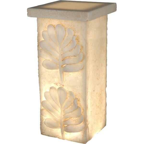 Cheltenham Polyresin Pedestal by Fleur De Lis Living