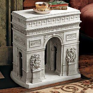 Arc De Triomphe Sculptural End Table ByDesign Toscano