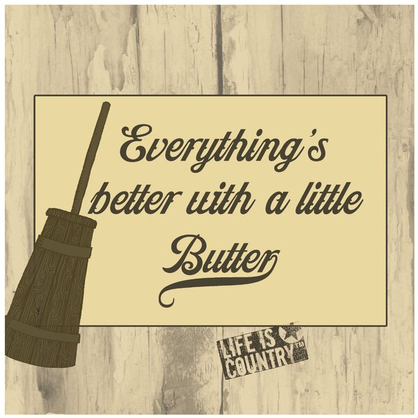 Better With a Little Butter Occasions Trivet by Thirstystone