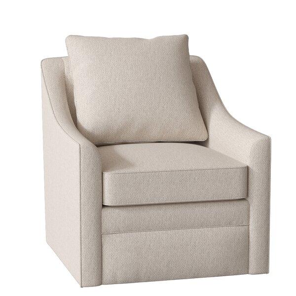 Quincy Swivel Armchair by AllModern Custom Upholstery AllModern Custom Upholstery