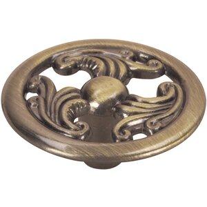 Filigree Round Novelty Knob