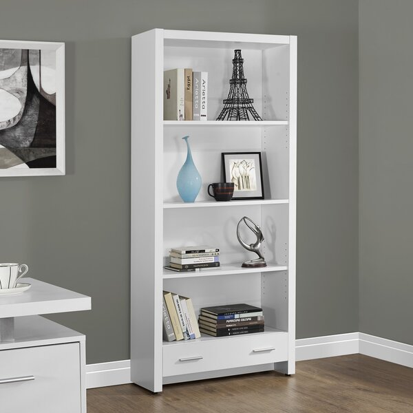 Georgette Etagere Bookcase by Monarch Specialties Inc.