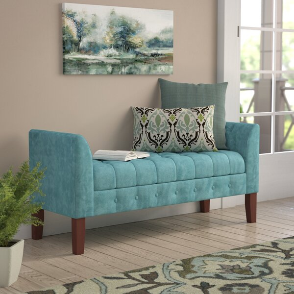 Oakham Upholstered Storage Bench by Alcott Hill