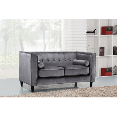 Grey Tufted Sofas You Ll Love Wayfair