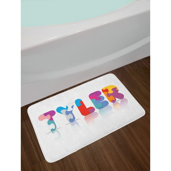 Tyler Bath Rug by East Urban Home