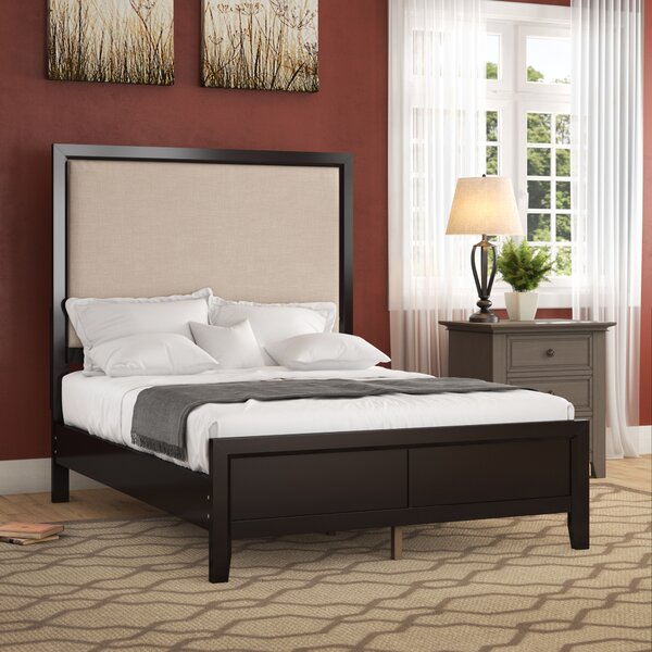 Nueva Upholstered Standard Bed by Alcott Hill