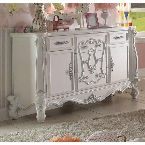 Sunnyside Wood 5 Drawer Combo Dresser by Astoria Grand