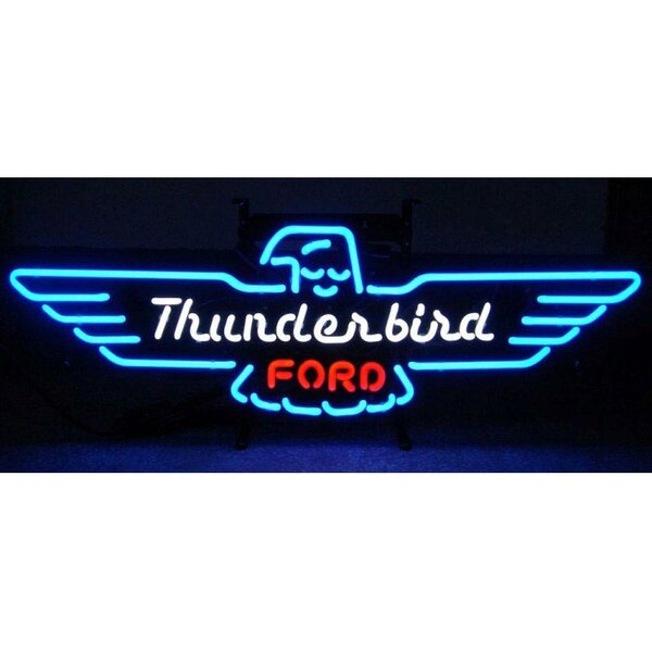 Ford Thunderbird Neon Sign by Neonetics