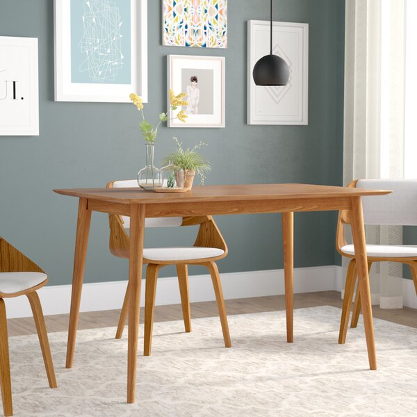 Goodyear Mid Century Modern Wood Dining Table By Corrigan Studio.