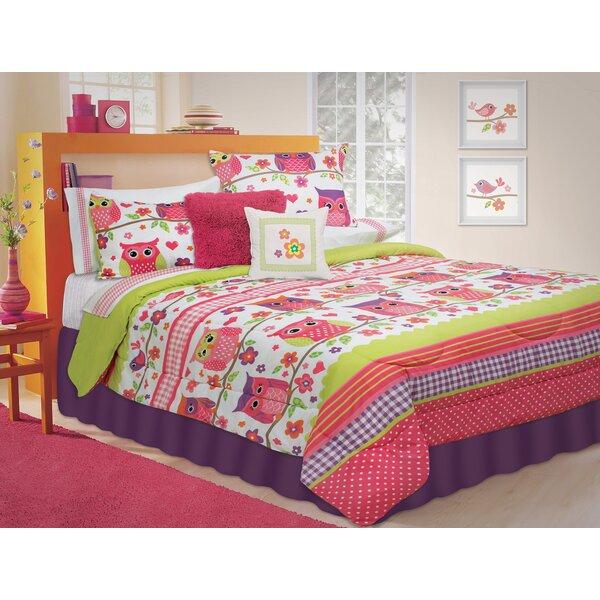 Dottie 3 Piece Comforter Set by Zoomie Kids