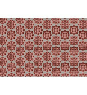 Rohan Quad European Design Red/White Indoor/Outdoor Area Rug by Charlton Home