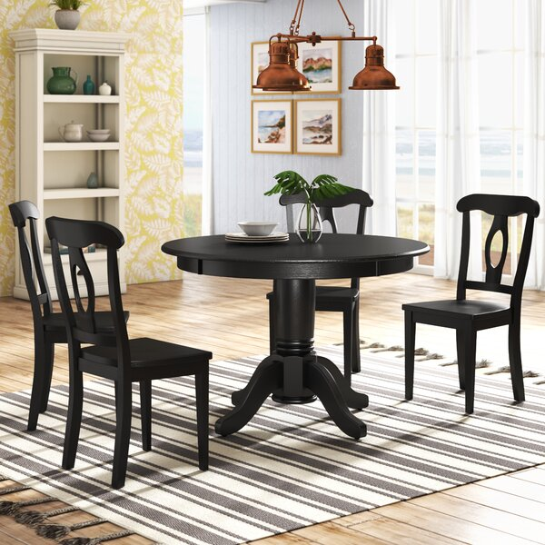 Gaskell 5 Piece Dining Set by Beachcrest Home