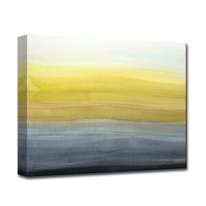 'Evening Glowing' by Norman Wyatt Jr. Graphic Art on Wrapped Canvas by Ready2hangart