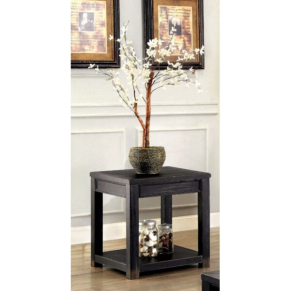 Reck End Table by Gracie Oaks