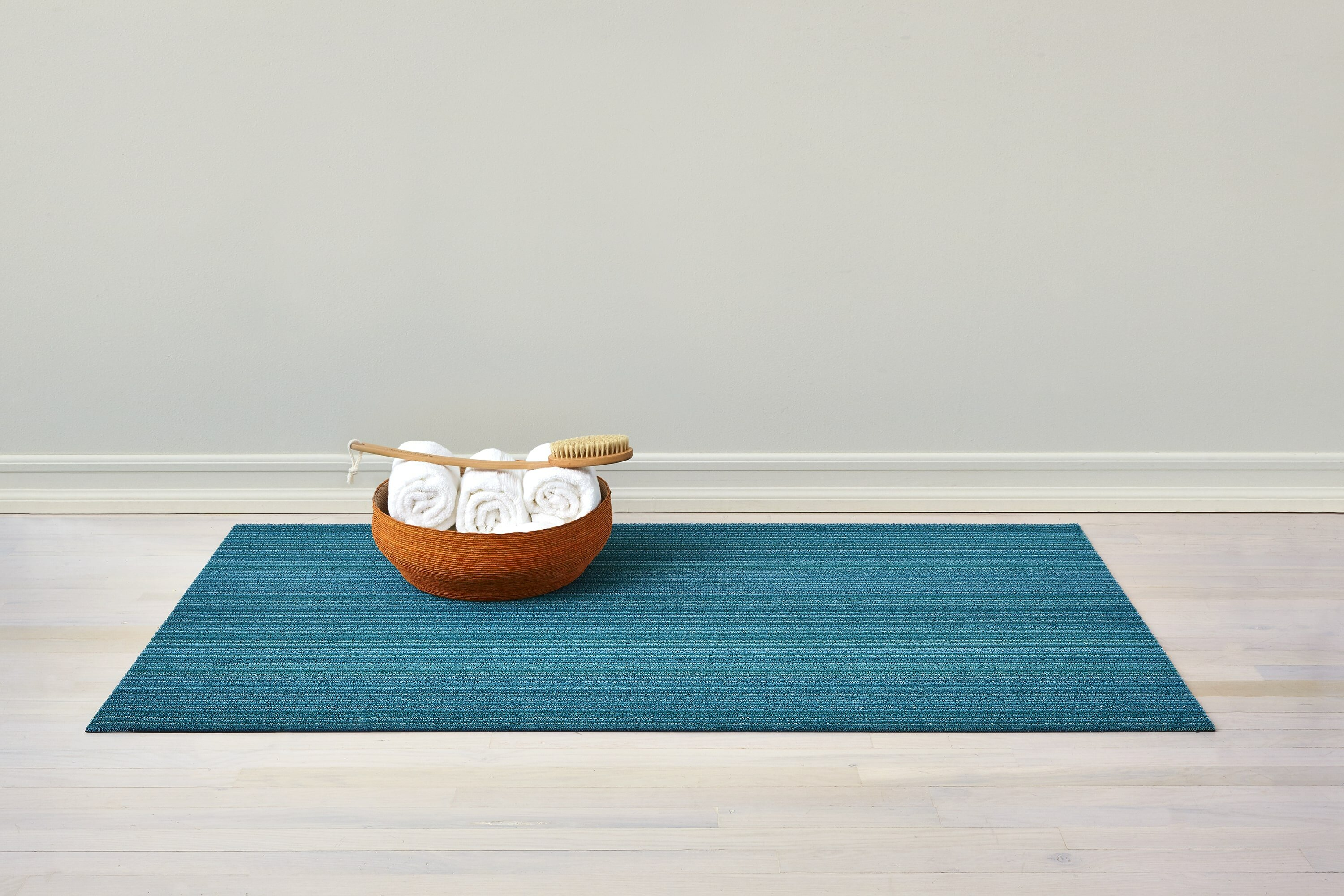 Shaggy Stripe Loop Texture Indoor Outdoor Utility Mat 18 X 30 Rugs Carpets Other Rugs Carpets