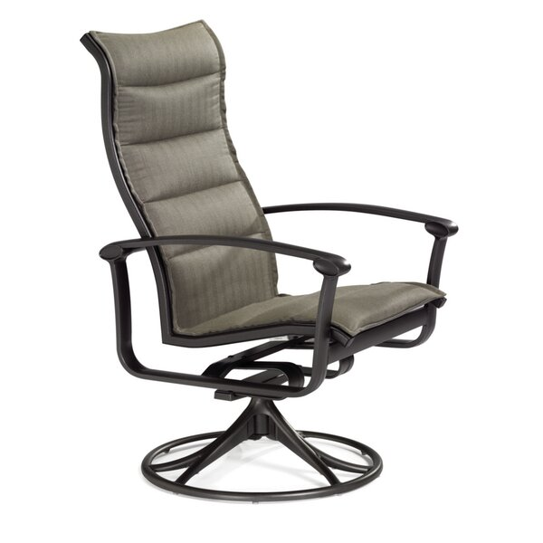 Ovation Swivel Patio Dining Chair by Tropitone