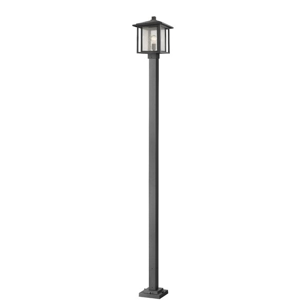Hungate Outdoor Mounted Fixture 1-Light Lamp Post by Bloomsbury Market