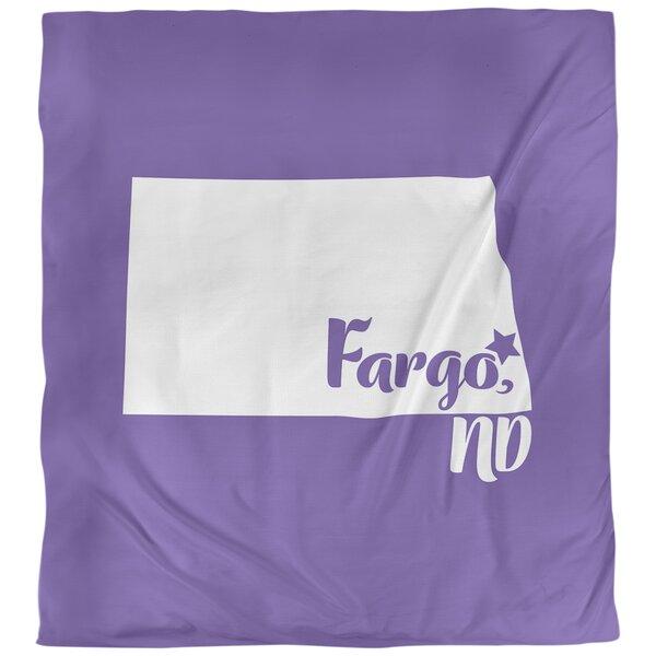 Fargo North Dakota Duvet Cover