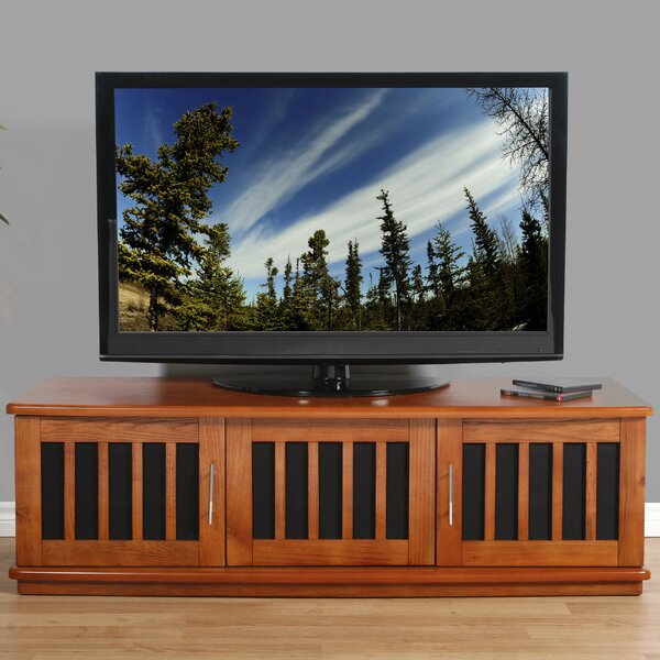 Vonnie Solid Wood TV Stand For TVs Up To 70