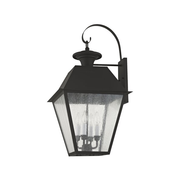 Cynda 4-Light Outdoor Wall Lantern by Darby Home Co