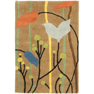 Best Price Armstrong Brown Grassland Area Rug By Winston Porter