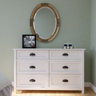 Leeds 6 Drawer Dresser