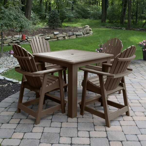 Deerpark 5 Piece Dining Set By Longshore Tides