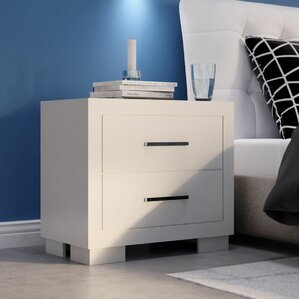 2 Drawer Nightstand by Wade Logan