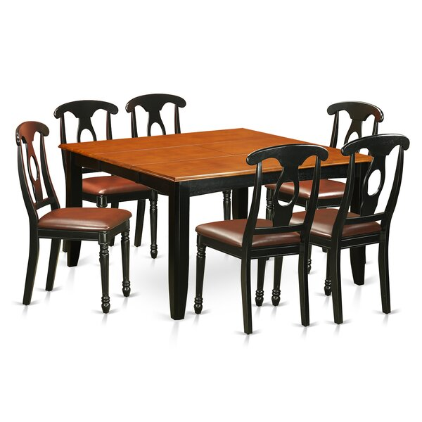 Pilning Contemporary 7 Piece Dining Set by August Grove