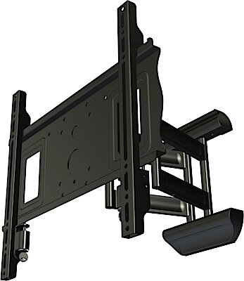 Secure Variable Angle Universal Wall Mount for 32-50 Screens by Crimson AV