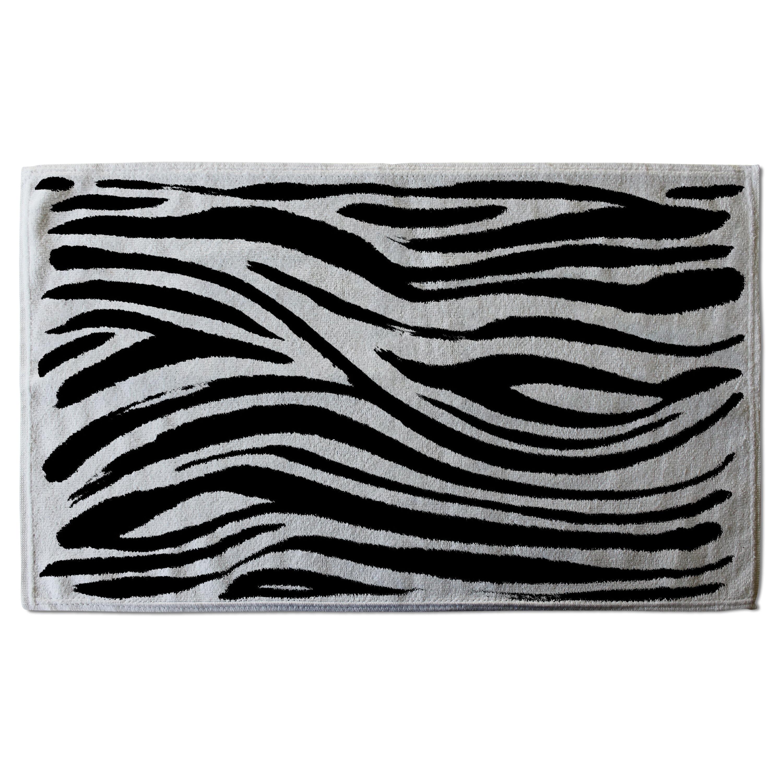 Andrew Lee Zebra Stripes Print Designer Set Of 6 Coasters Wayfair