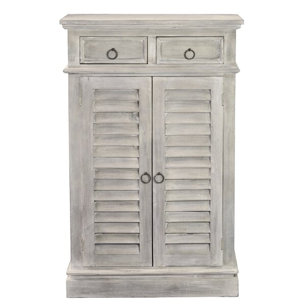 Margaret Shutter 2 Door Accent Cabinet by Rosalind Wheeler Rosalind Wheeler