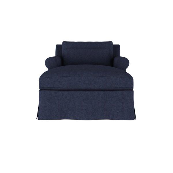 Autberry Velvet Chaise Lounge