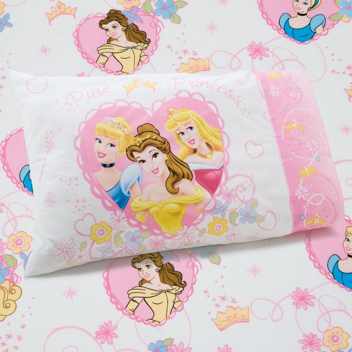 Disney Princess Castle Dreams 2 Piece Toddler Bedding Set