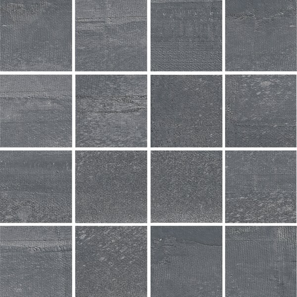 La Vie Boheme 3 x 3 Porcelain Mosaic Tile in Denim by PIXL