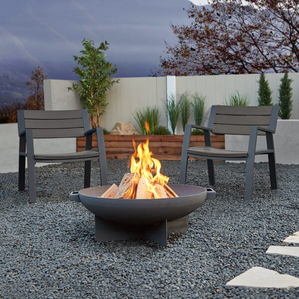 Anson 3 Piece 2 Person Seating Group by Real Flame