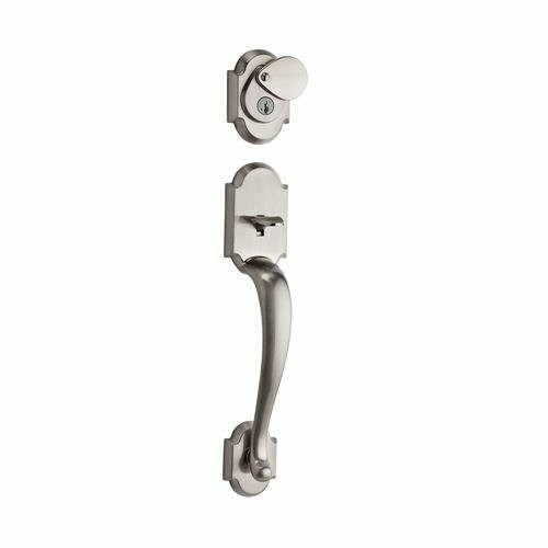 Austin Signature Series Single Cylinder Handleset with Smartkey®, Exterior Handle Only by Kwikset