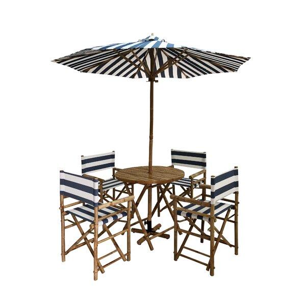 Lucchesi Outdoor 6 Piece Dining Set Bayou Breeze W001188680