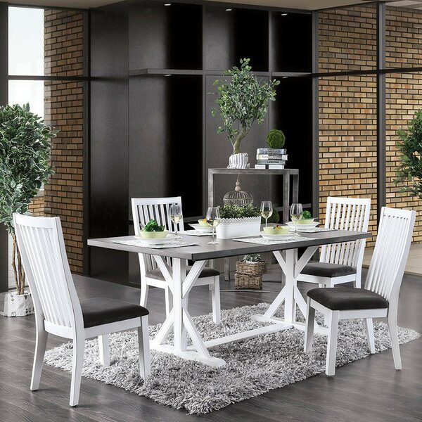 Bryton 5 Piece Dining Set by Rosecliff Heights