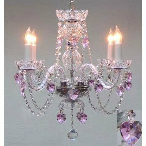 Kang Swarovski 4-Light Candle Style Chandelier by House of Hampton