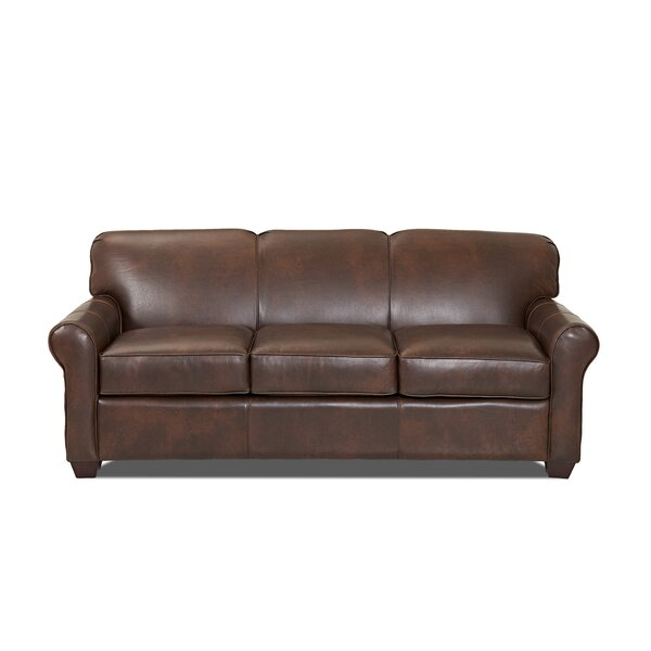 "Jennifer Leather Sofa Bed by Wayfair Custom Upholsteryâ""¢"