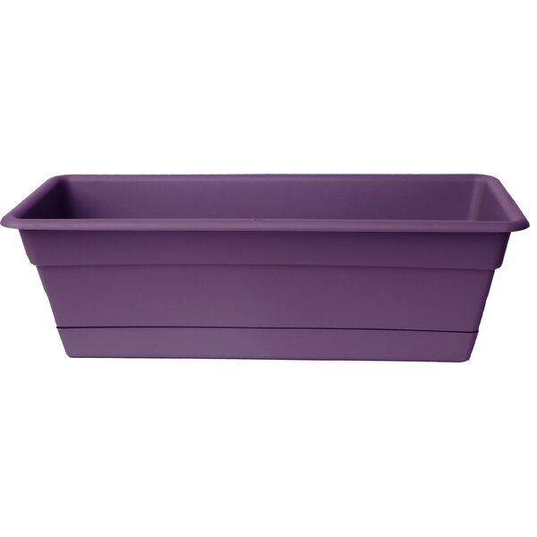 Dura Cotta Plastic Window Box Planter by Bloem