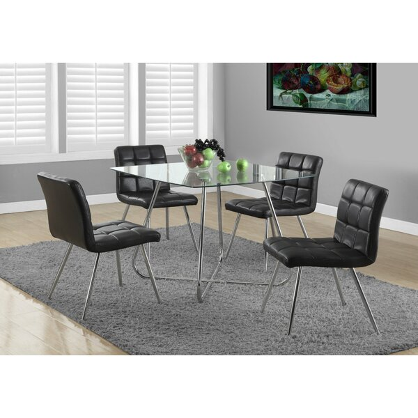 Amber 5 Piece Dining Set by Latitude Run