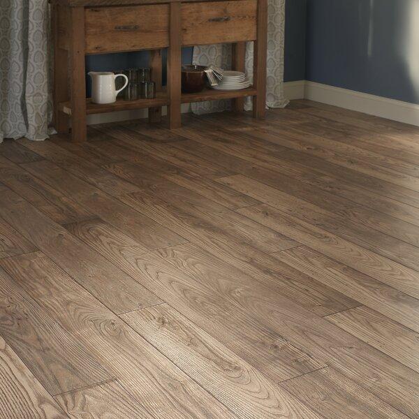 Restoration 6'' x 51'' x 12mm Chestnut Laminate Flooring in Natural by Mannington