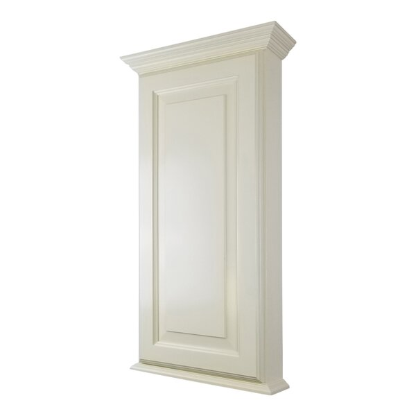 Atlanta Series 15.5 W x 43.5 H Wall Mounted Cabinet by WG Wood Products
