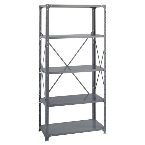 Commercial 5 Shelf Shelving Unit Starter by Safco Products Company