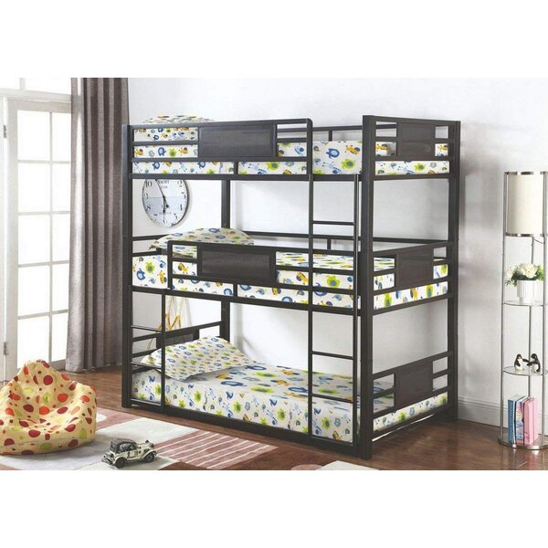 Arlington Triple Bunk Bed by Harriet Bee