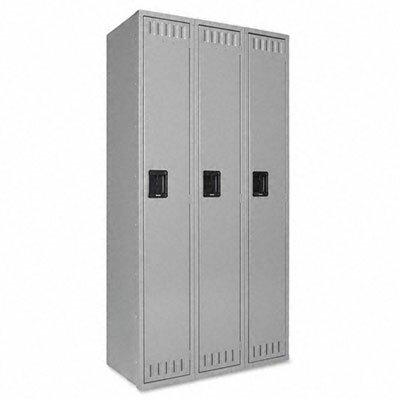 Tennsco 1 Tier 3 Wide School Locker by Tennsco Corp.Tennsco 1 Tier 3 Wide School Locker by Tennsco Corp.