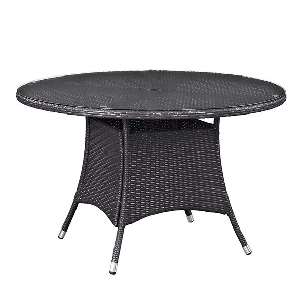 Ryele Outdoor Patio Dining Table by Latitude Run