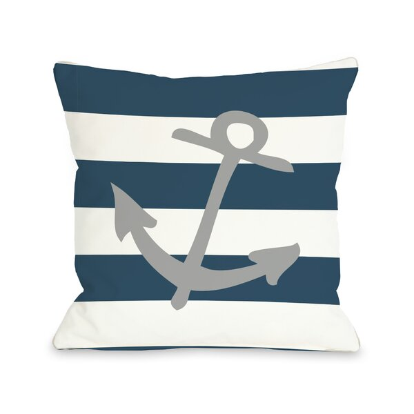 Striped Throw Pillow by One Bella Casa